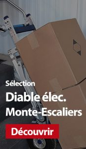 Sélection manutention : Diable électrique Monte-Escaliers