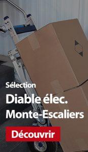 Sélection manutention : Diable électrique Monte-Escaliers