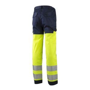 Pantalon Multirisques Coverguard Haute-Visibilité - THOR - dos