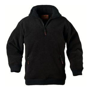 Pull Polaire De Travail Coverguard - ANGARA noir