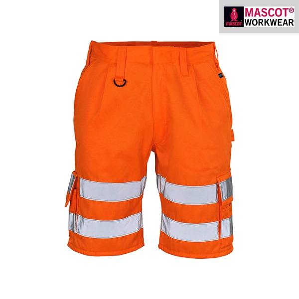 Short De Travail Haute-Visibilité Orange Mascot | PISA
