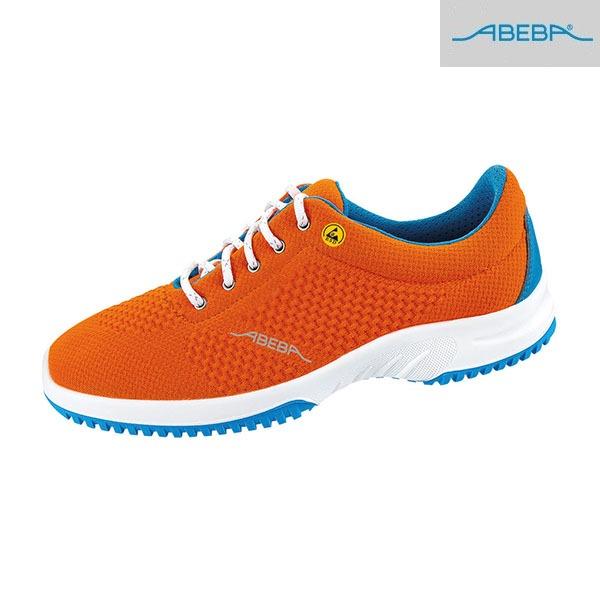 Chaussures De Travail Basses ABEBA - ESD - Uni6 - Orange