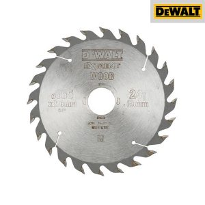 Lame Scie Circulaire Portative 24 Dents - 165mm - DEWALT