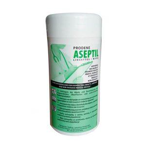 Lingettes Antiseptiques et Désinfectantes Prodene Aseptil