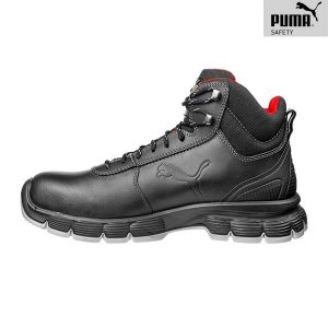 Chaussures de sécurité Puma – Condor Black Mid S3 ESD SRC