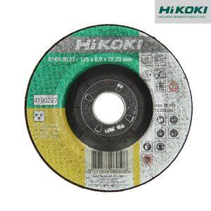 Disques à Ébarber Pour Métal Et Inox - Concave - 6mm - HIKOKI