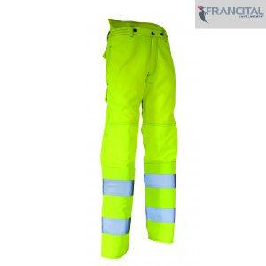 Pantalon de Travail Riga Débroussaillage Haute-visibilité - FRANCITAL