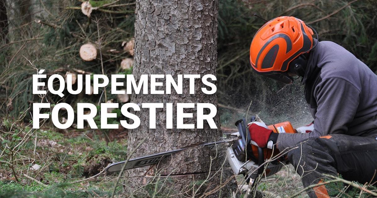 Bien choisir ses équipements de protections chantier forestiers