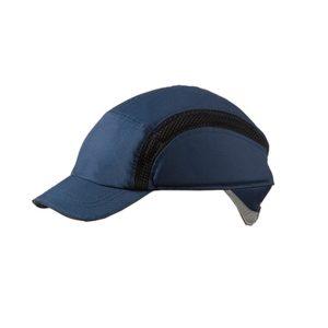 casquette de sécurité teflon bleue