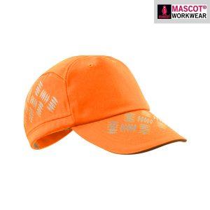 Casquette MASCOT RIPON avec trous d'aération - Orange