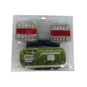 Kit De Signalisation Magnétique Feux LED - 7.5m - 12V