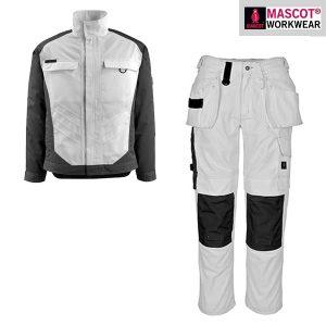 Pack veste et pantalon blanc pour peintre et platrier