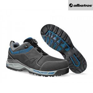Chaussures de sécurité Albatros Black QL LOW S3 ESD HRO SRC - Tofane