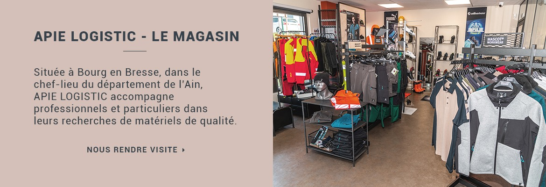 Tout le matériel pour les espaces verts à Bourg en Bresse - Apie Logistic
