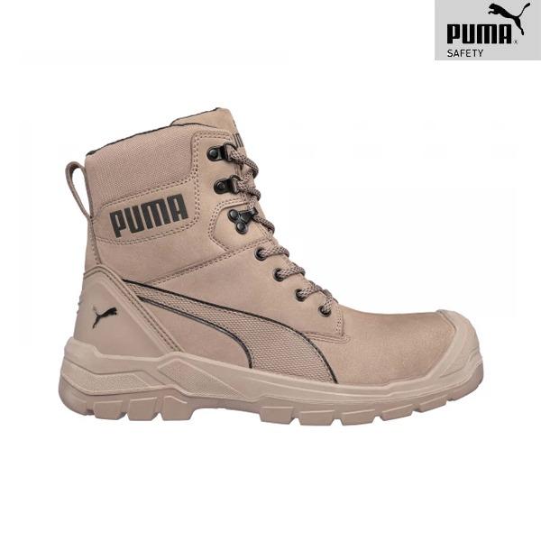 Chaussures De Sécurité Puma - CONQUEST STONE HIGH S3