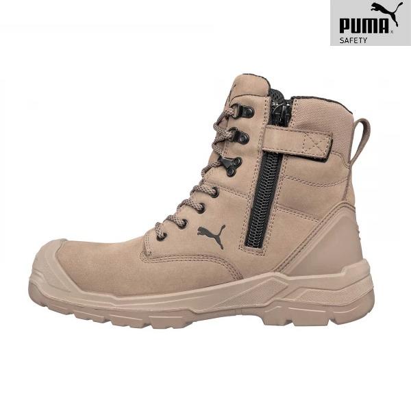 Chaussures De Sécurité Puma - CONQUEST STONE HIGH S3 - Fermeture
