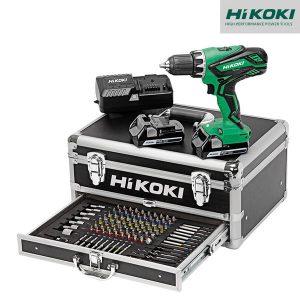 Perceuse Visseuse 18V 2,5Ah + accessoires - HIKOKI - KC18DJLFZ