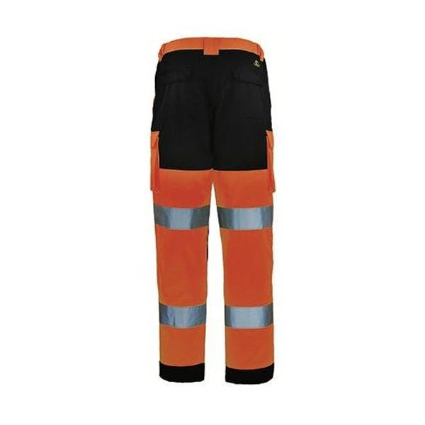 Pantalon Haute-Visibilité Coverguard - PATROL - Orange - Arrière