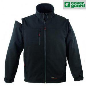 Veste imperméable et coupe vent Coverguard - YANG 2 en 1